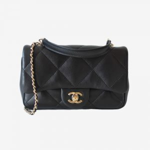 Chanel Large Quilted Small Flap bag
