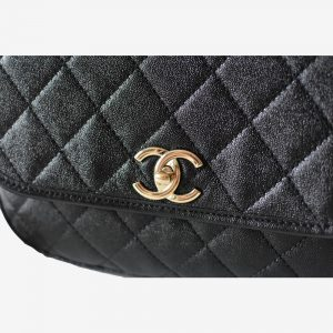 Chanel Round Large flap bag